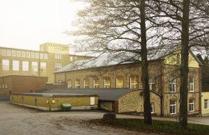 Kasthalls fabrik i Kinna där tillverkning har pågått sedan 1889
